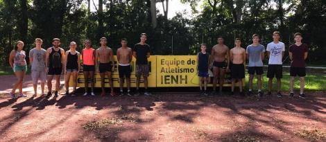 Temporada 2019 inicia para atletas da IENH