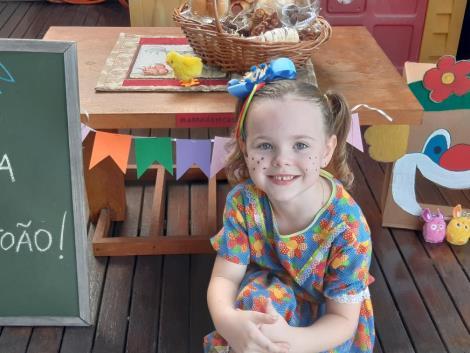 Turmas da Educação Infantil participam de atividades sobre a data de São João