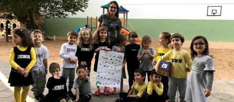 Turmas do Nível 4 da Educação Infantil exploram espaços da Unidade Oswaldo Cruz