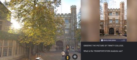"""""""Uma aventura em Cambridge pelo Google Earth"""" é atividade dos 3°s anos da Unidade Pindorama"""