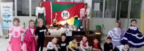 Valorização da cultura gaúcha na Semana Farroupilha da IENH