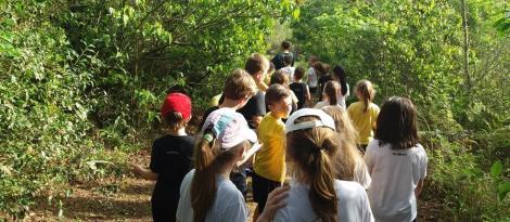Visita ao CEAES oportuniza novos aprendizados sobre Educação Ambiental para alunos dos 2ºs anos