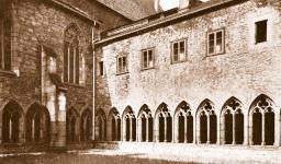 Convento dos eremitas agostinianos em Erfurt, onde Lutero ingressou em 1505