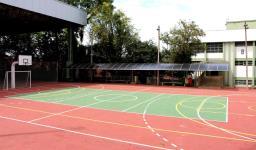 Quadra esportiva externa